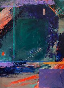 """Marion Schneider, The Dark Side, Acrylic, 18""""x24"""", $1,500"""