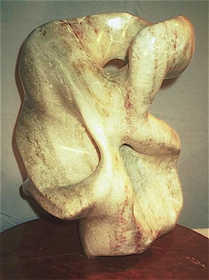 """Debora Solomon,Dance, Sculpture, 18.5""""x16.5""""x16"""", $3,500"""