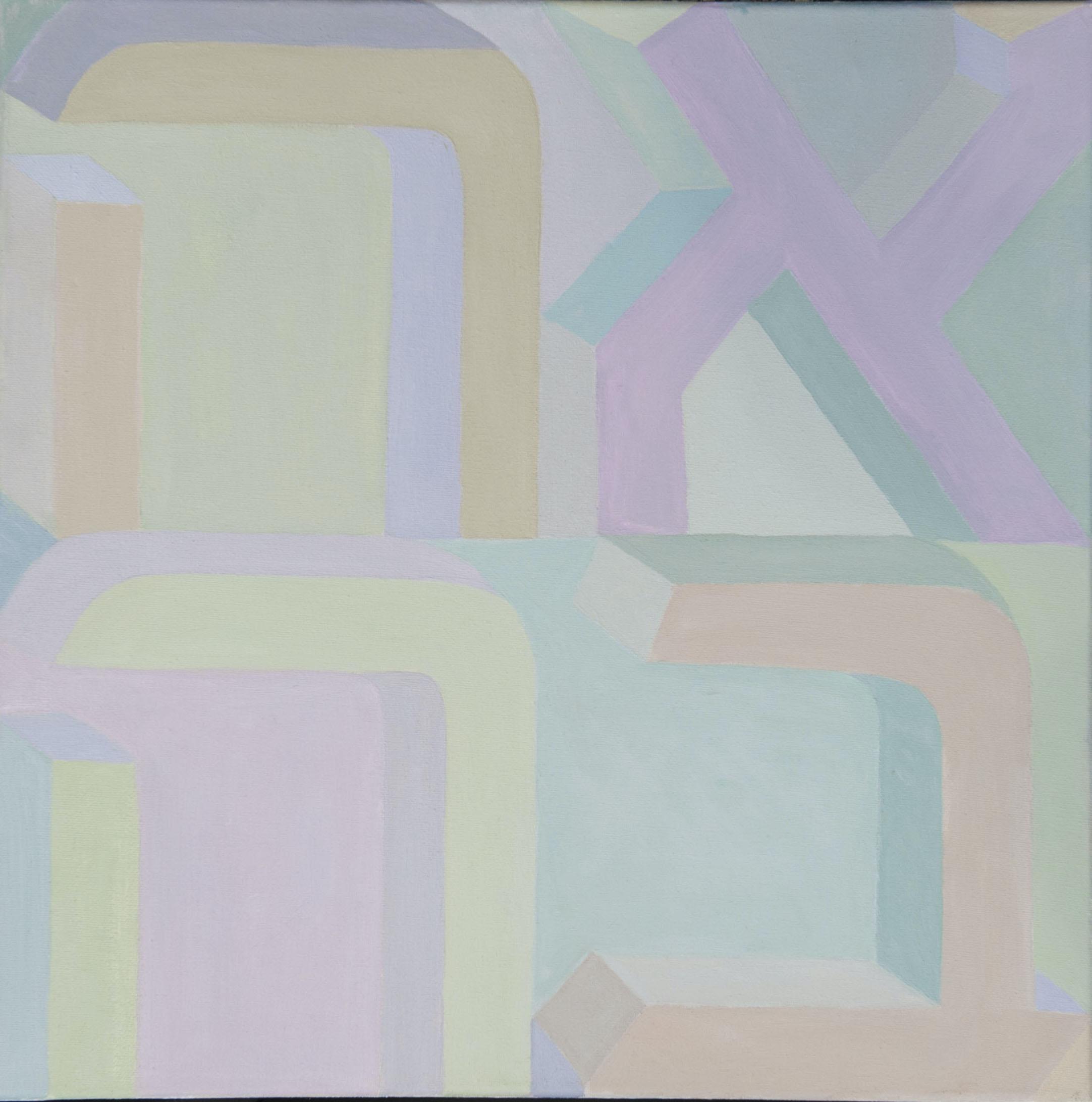 """Paula Blumenfeld, Ahava, Oil, 20""""x20"""", $1,400"""