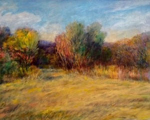 "Helen Schiliro, The Meadow, Oil, 11""x14"", $400"
