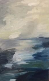 """Mitchell Visoky, Ocean Light, Oil on canvas, 16""""x10"""", $450"""