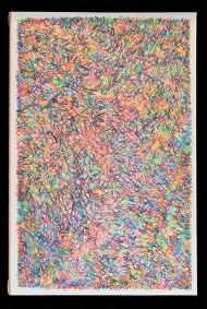 """Bryan Greene, Untitled Drawing Two, Colored Pencil on Canvas, 24""""x16"""", $350"""