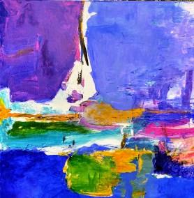 """Fabian Wes Fleurant, Je Ne Sais Quoi, Acrylic on canvas, 36""""x36"""", $3,200"""