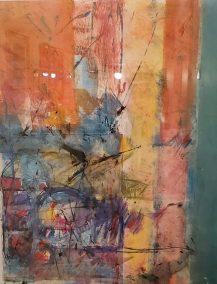 "Helen Pasternack, Times Intertwine, Monotype, 12""x18"", $500"