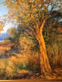 """Helen Schiliro, Autumn Twilight, Acrylic, 14""""x18"""", $600"""