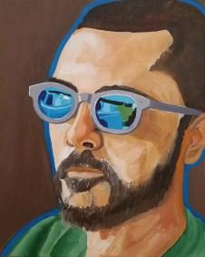 """Leslie Hardie, Stuart, Oil on canvas, 16""""x20"""",$2,400"""