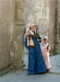 "June Greenspan, The Beggars of Cairo, Digital Photograph, 24""x30"", $2,450"