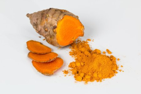Turmeric and turmeric powder root