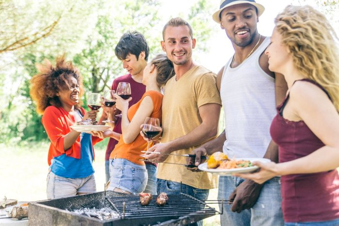 Gather with family and friends this summer for great barbecues.