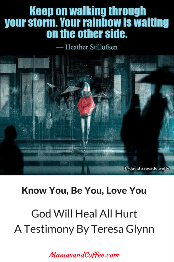 God will heal your hurt, keep pushing through the storms. Rape is not your fault