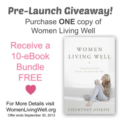 #WomenLivingWell Pre-Launch Giveaway at Women Living Well