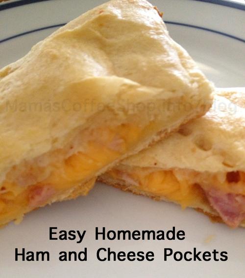 Easy Ham and Cheese Pockets - Hot Pocket Copycat Recipe