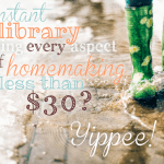 The Ultimate Homemaking Bundle is Finally Here