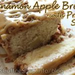 Cinnamon Apple Bread with Praline Sauce {Recipe}