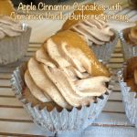 {Recipe} Apple Cinnamon Cupcakes with Cinnamon Vanilla Buttercream Icing