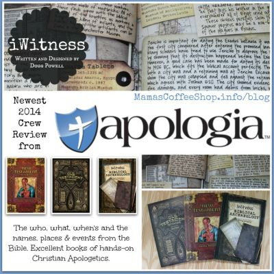 {Product Review} iWitness Books and Apologia Educational Ministries