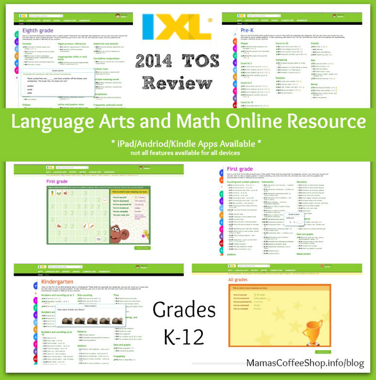 Product Review} A Math and Language Arts K-12 Practice Resource from ...
