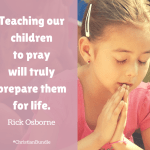 Teaching Children to Pray and the Ultimate Christian Living Bundle
