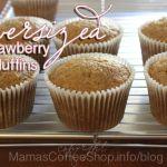 Oversized Strawberry Muffins {Recipe}