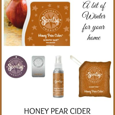 Fragrance Friday {Scentsy Pick of the Week} – Honey Pear Cider