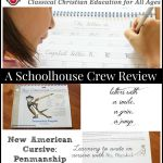 {Product Review} New American Cursive: Penmanship Workbook #1 from Memoria Press