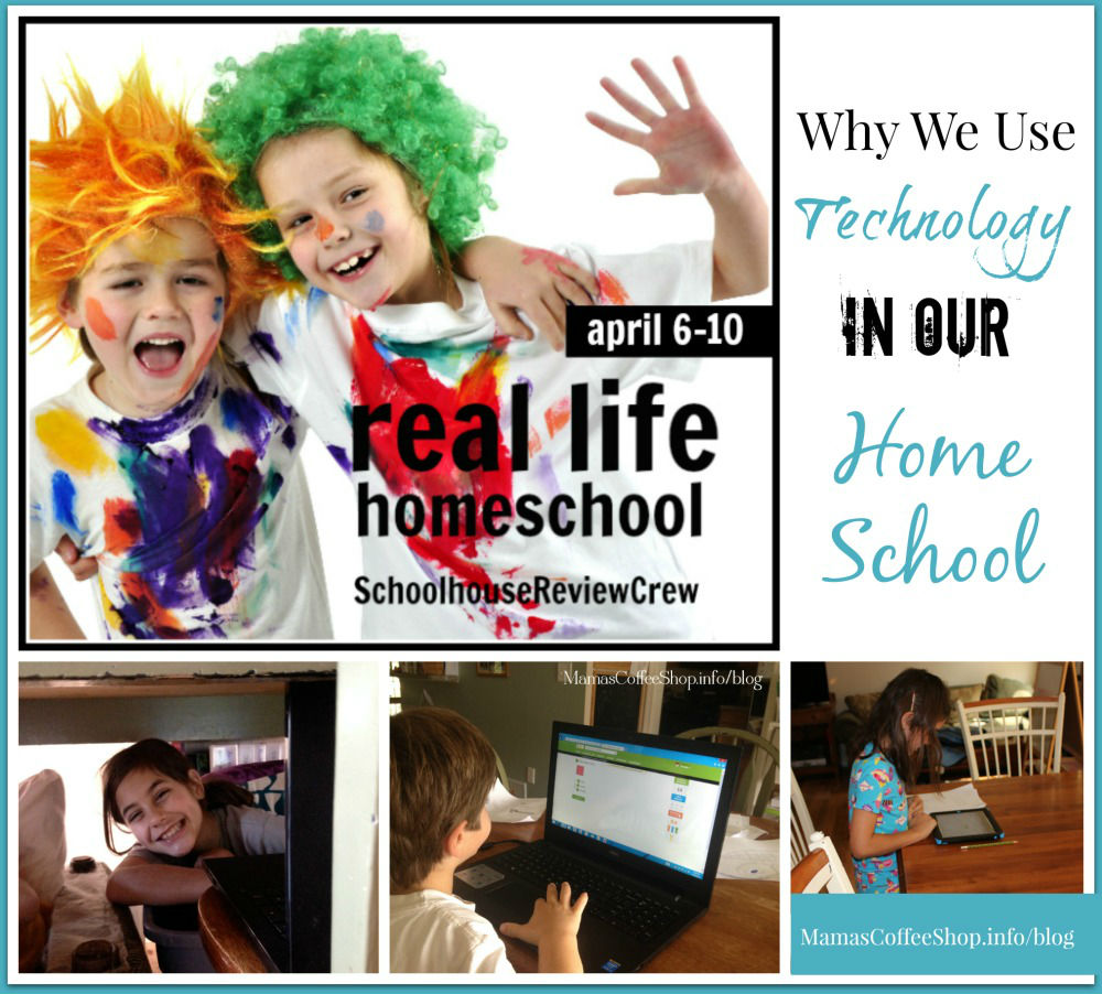 Mamas Coffee Shop - Real Life Homeschool -Technology
