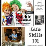 Life Skills 101 {Real Life Homeschool Blog Hop April 2015}