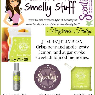Fragrance Friday {Scentsy Pick of the Week} Jumpin' Jellybean