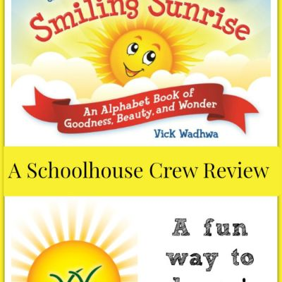 {Product Book Review} S is for Smiling Sunrise from WordsBright