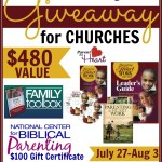 Parent Training Center Giveaway for Churches from NCBP
