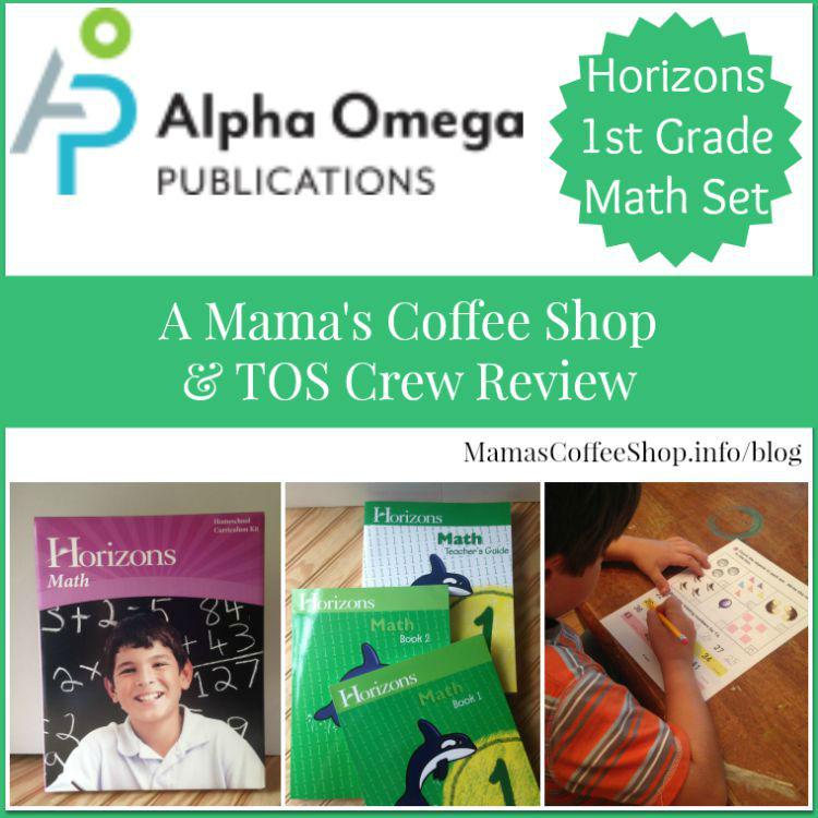 Mamas Coffee Shop - AOP Horizons 1st Grade Math