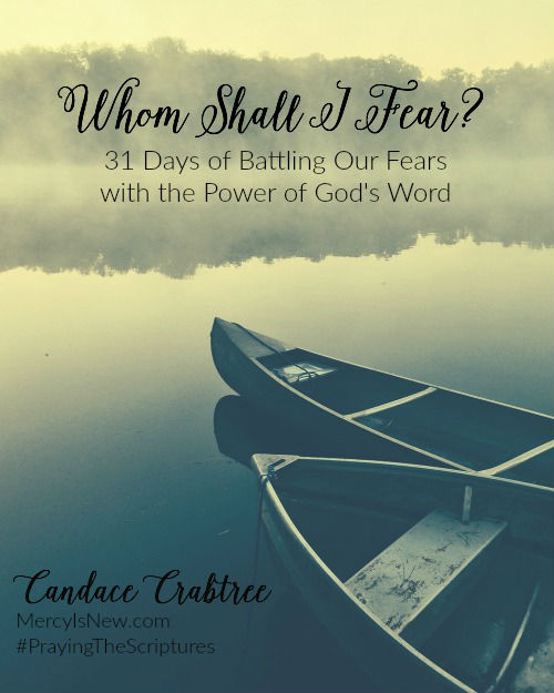 Whom Shall I Fear 31 Day Devotional from His Mercy is New