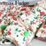Christmas Fudge {Recipe}