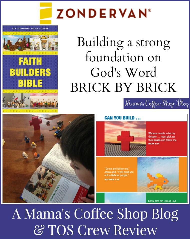 Mama's Coffee Shop Blog - Zonderkidz Faith Builders Bible