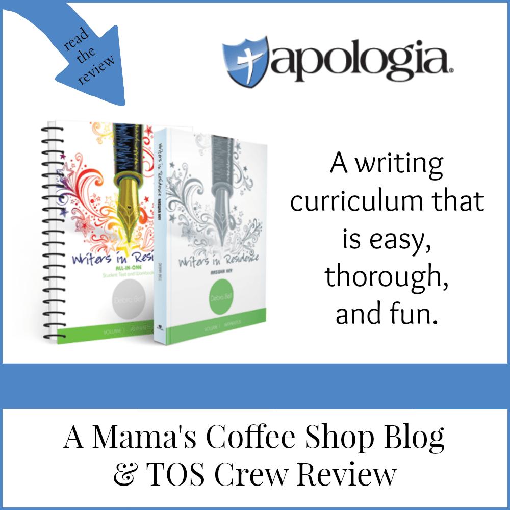 Mama's Coffee Shop Blog - WIR (Apologia)