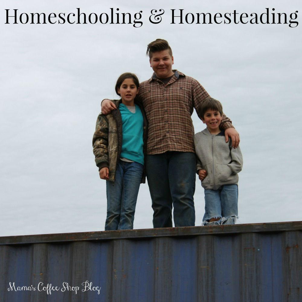 Mama's Coffee Shop Blog - Homeschooling and Homesteading