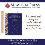 {Product Review} The Book of Astronomy Set from Memoria Press