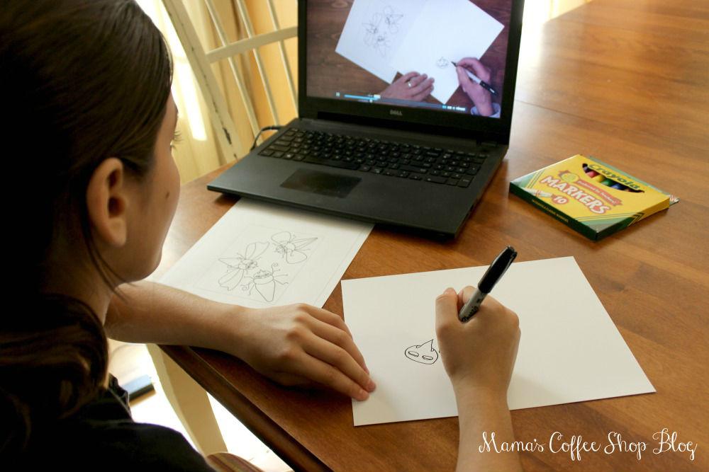 Mama's Coffee Shop Blog - ArtAchieve Video Watching