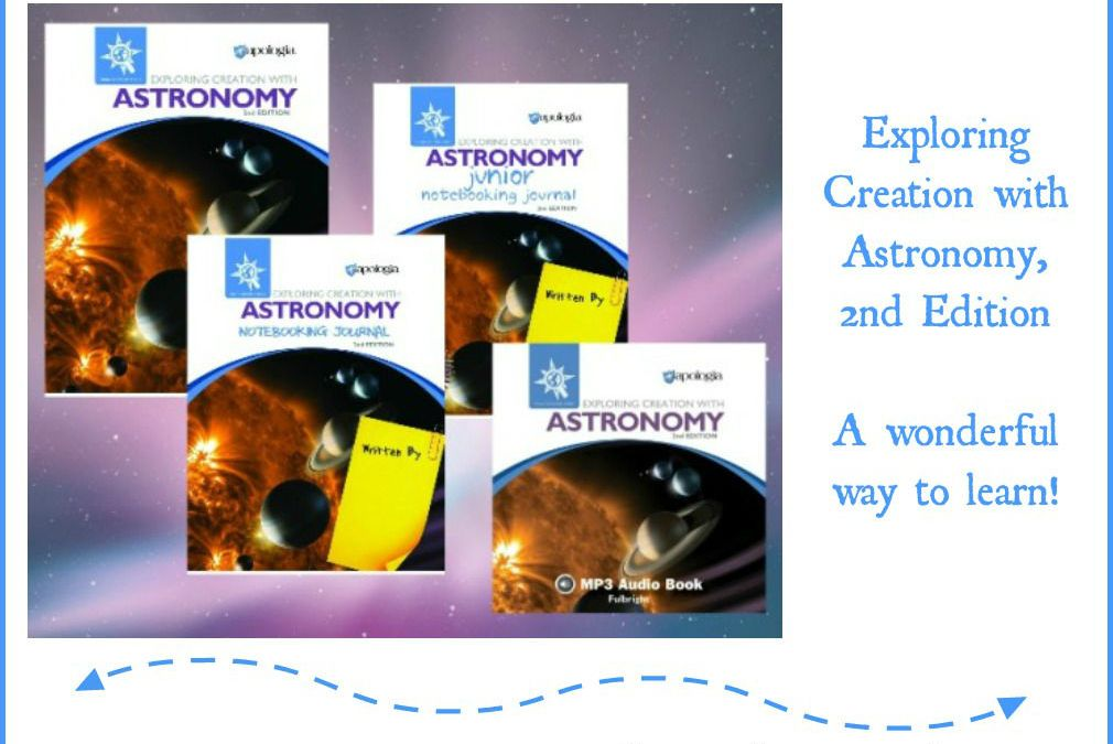 {Product Review} Exploring Creation with Astronomy in Your Homeschool from Apologia