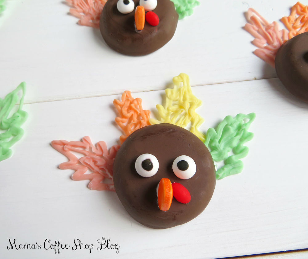 Mama's Coffee Shop Blog - Turkey Cookies