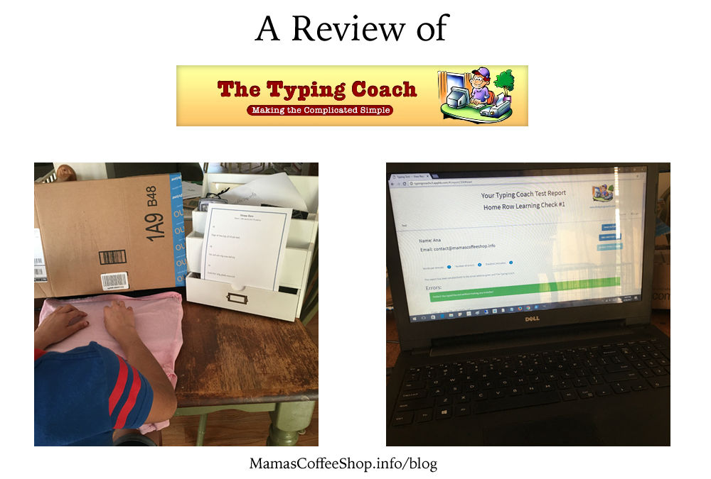 The Typing Coach Online Typing Course (Homeschool Review Crew)