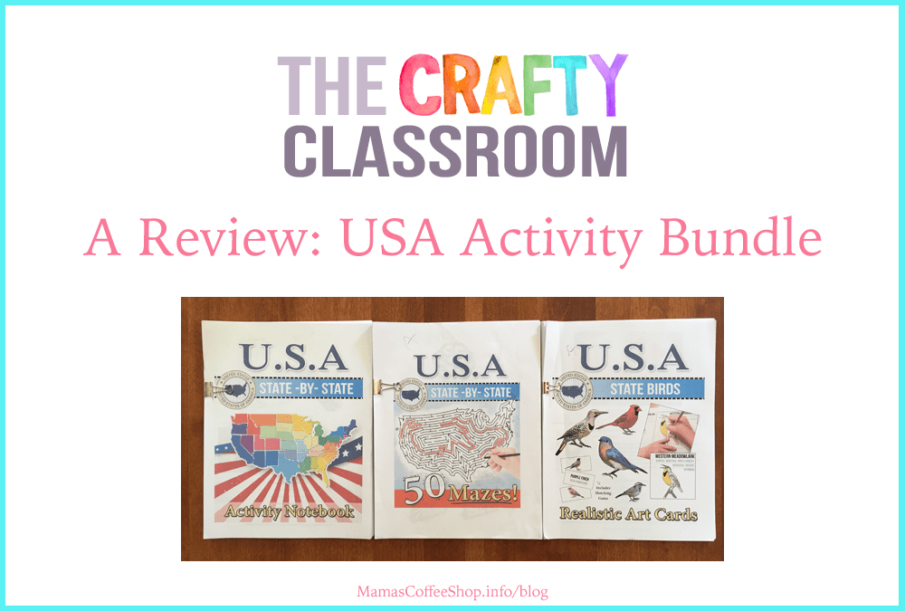 USA Activity Bundle from The Crafty Classroom (Homeschool Review Crew)