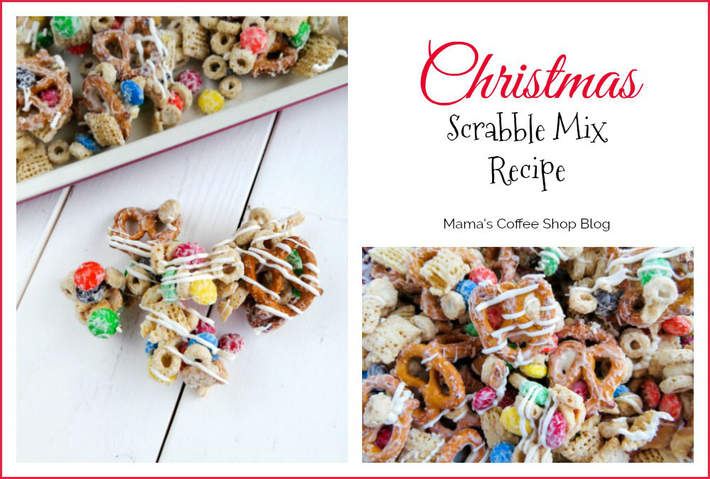 Christmas Scrabble Mix Recipe + $500 Giveaway