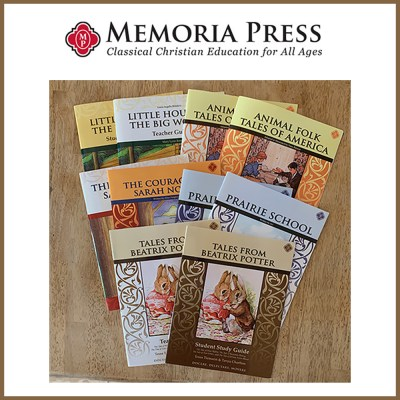 Memoria Press Second Grade Literature Guide Set {Review}