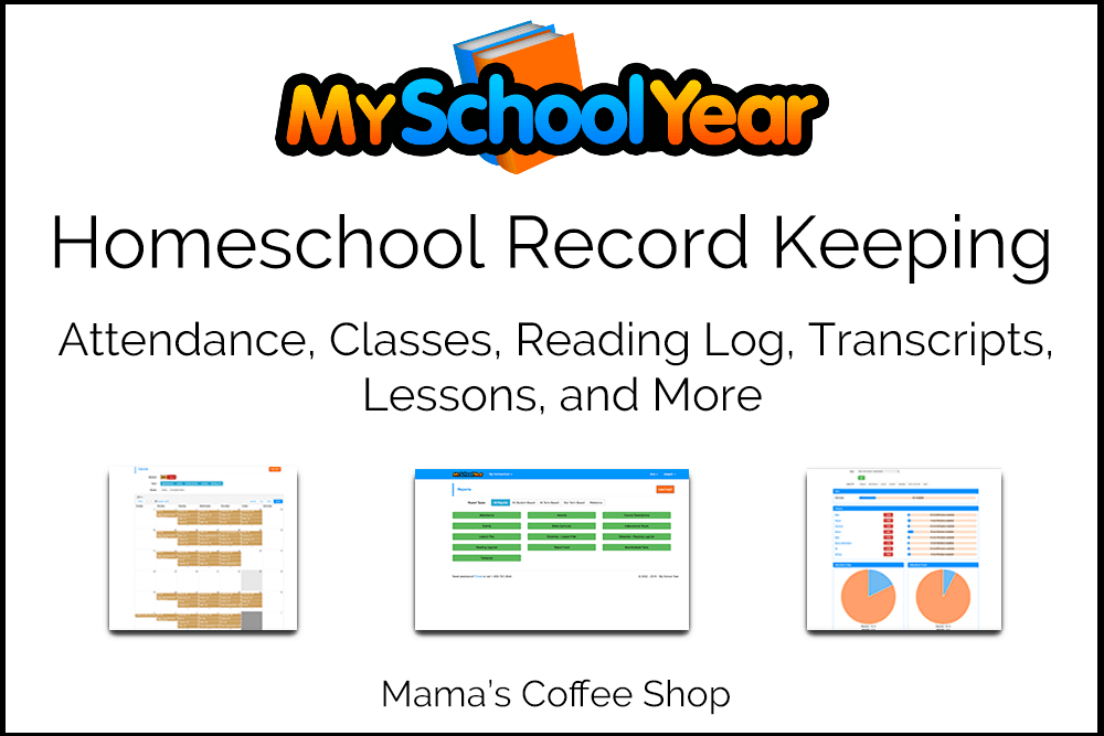 My School Year Homeschool Record Keeping {Review}