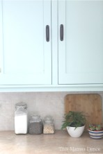 painted cabinets fern