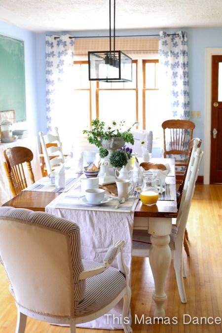Farmhouse table Setting|This Mamas Dance
