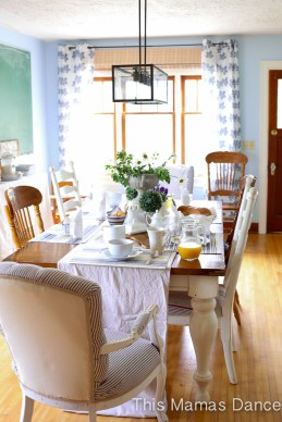 Farmhouse table Setting-2
