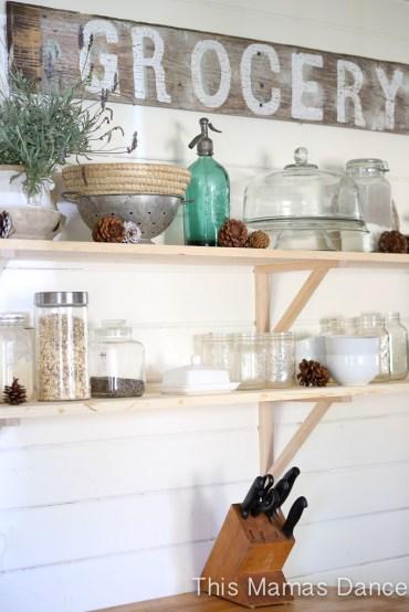 open shelves farmhouse kitchen-2