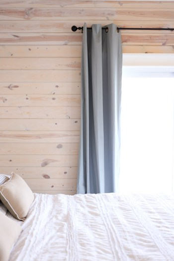 White Washed Horizontal Planked Pine Wall-4